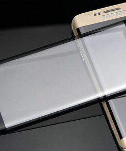 Full Screen Tempered Glass voor Samsung Galaxy S7 Edge Zwart
