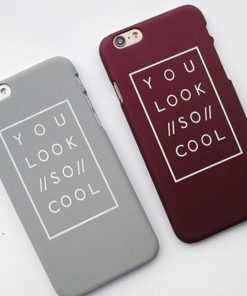 "Apple iPhone 6 / 6S Plus Hardcase ""You look so cool""-0"