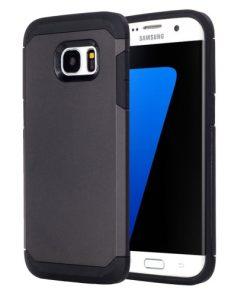 Samsung Galaxy S7 Edge Armor Hoesje Zwart