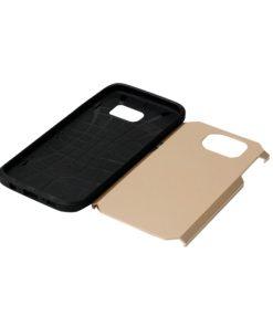 Samsung Galaxy S7 Edge Armor Hoesje Goudkleurig
