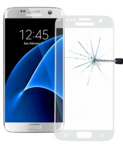 Full Screen Tempered Glass voor Samsung Galaxy S7 Transparant