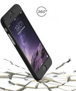 Apple iPhone 7 360 bescherming hardcase Metallic Rood-0