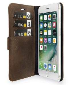 Valenta Booklet Classic Luxe Vintage Brown iPhone 7 Plus