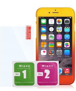 Apple iPhone 7 360 bescherming hardcase Geel/Rood