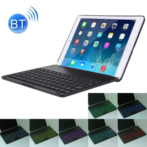 iPad Air 2 Bluetooth Keyboard Aluminium Case Zwart 2