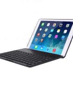 iPad Air 2 Bluetooth Keyboard Aluminium Case Zwart 10