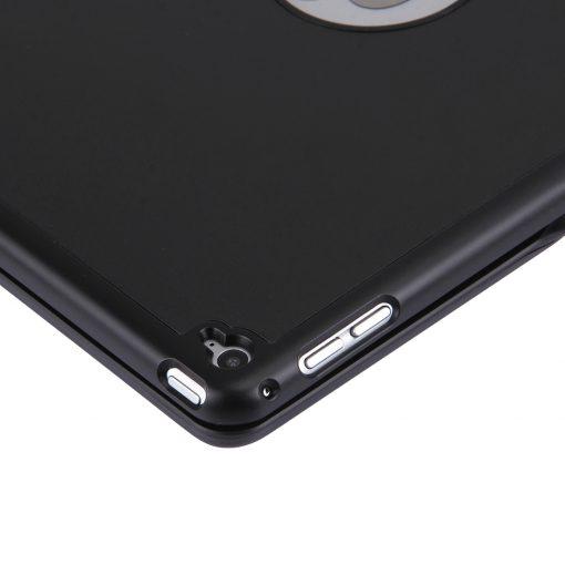 iPad Air 2 Bluetooth Keyboard Aluminium Case Zwart 8