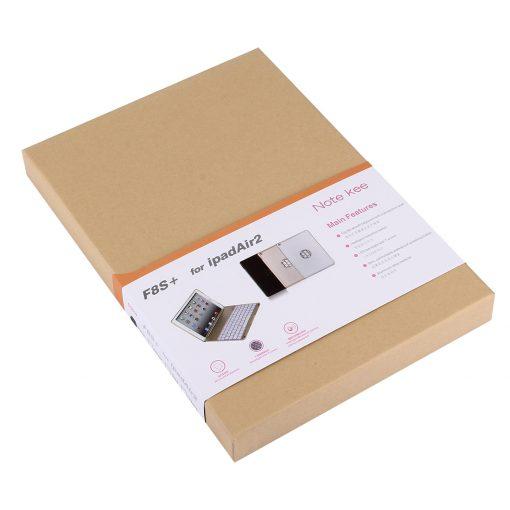 iPad Air 2 Bluetooth Keyboard Aluminium Case Zwart 4