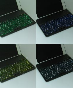 iPad Air 2 Bluetooth Keyboard Aluminium Case Zwart 5