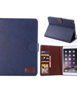 iPad Mini Stand Cover Blauw-0