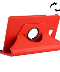 Samsung Galaxy Tab A 10.1 PU-Lederen 360 Cover Rood