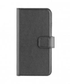XQISIT Slim Wallet Case Selection Black iPhone 7