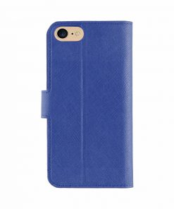 XQISIT Wallet case Viskan Blue iPhone 7