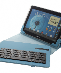 Universele Bluetooth Keyboard Cover Blauw