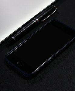 Carbon Look TPU Hoesje Apple iPhone 7 Zwart