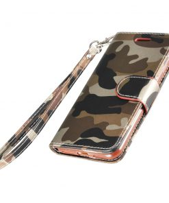 Legerprint Flipcase Apple iPhone 7 Plus Metallic Bruin