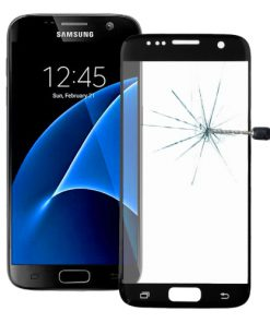 Full Screen Tempered Glass voor Samsung Galaxy S7 Zwart