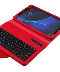 Samsung Galaxy Tab E 9.6 Bluetooth Keyboard Cover Rood