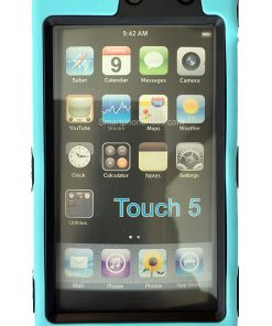 iPod Touch 5/6 Shock Proof Hoesje Licht Blauw