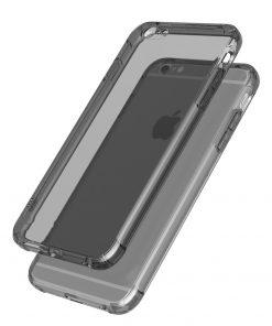 Apple iPhone 7 Ultra Beschermend TPU Hoesje Smokey Black-127720
