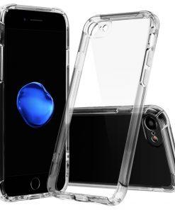 Apple iPhone 7 Plus Ultra Beschermend TPU Hoesje Transparant-0