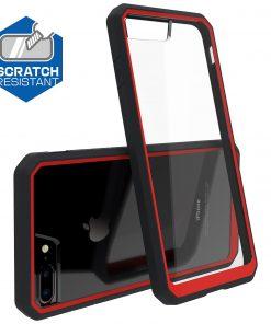 Apple iPhone 6 / 6S Plus Supcase Unicorn Beetle Hoesje Zwart & Rood