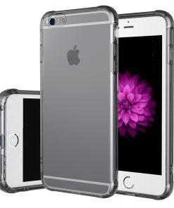 Apple iPhone 7 Ultra Beschermend TPU Hoesje Smokey Black-0