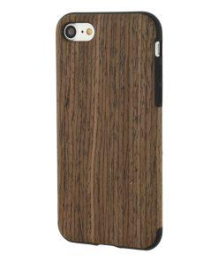 Xccess Wooden TPU Case Walnut iPhone 7