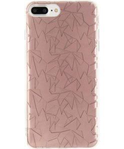 Xccess TPU/PC Case Apple iPhone 7 Plus Prism Design Rose Gold-0