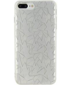 Xccess TPU/PC Case Apple iPhone 7 Plus Prism Design Silver-0