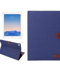 iPad Pro 9.7 inch Cover Jeans Style Blauw