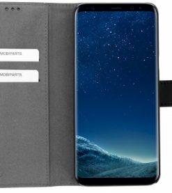 Mobiparts 2 in 1 Premium Wallet Case Samsung Galaxy S8 Plus Black-121785