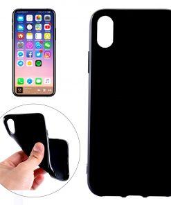 iPhone X TPU Hoesje Zwart