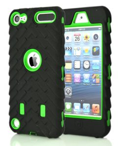 iPod Touch 5/6 Shock Proof Hoesje Groen.