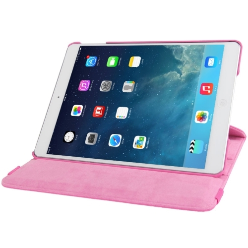 iPad 9.7 inch 2017 360 Cover Roze
