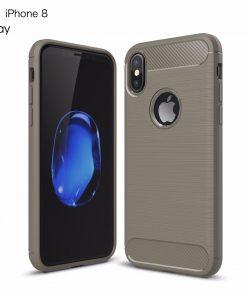 iPhone 8 TPU Carbon Fiber Case -0