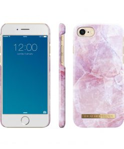iDeal of Sweden Fashion Back Case Pilion Pink Marble voor iPhone 8 | 7-0