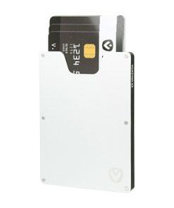 Valenta Card Case Aluminium Zilver-91600