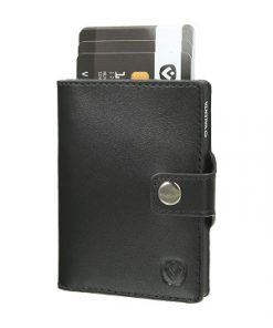 Valenta Card Case Wallet Black Black-0