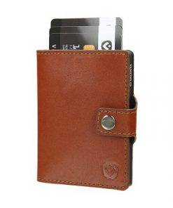 Valenta Card Case Wallet Cognac-0