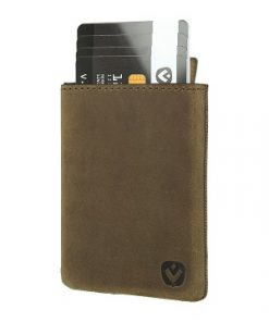 Valenta Card Case Pocket Luxe Brown-0
