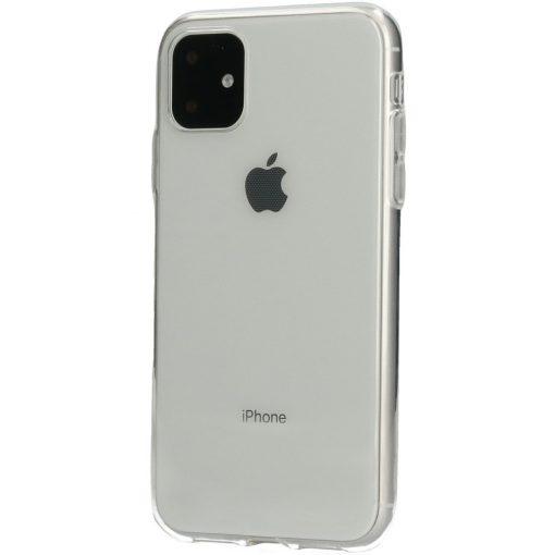 Mobiparts TPU Case iPhone 11 Transparent-0