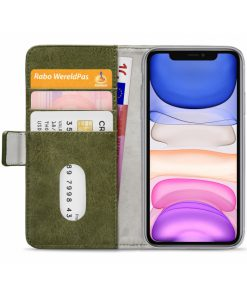 Mobilize Elite Gelly Wallet Book Case Apple iPhone 11 Green-149183