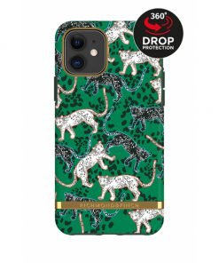 Richmond & Finch Freedom Series Apple iPhone 11 Green Leopard/Gold-0
