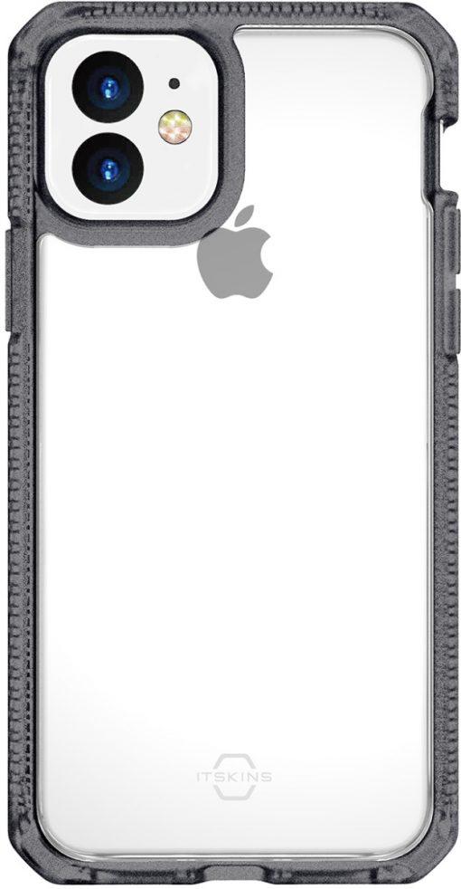 ITSKINS Level 2 HybridFrost for Apple iPhone 11 Transparent Black-149197