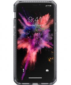 ITSKINS Level 2 HybridFrost for Apple iPhone 11 Transparent Black-149198