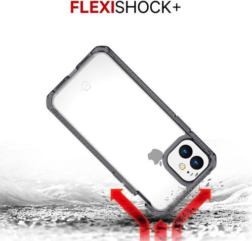 ITSKINS Level 2 HybridFrost for Apple iPhone 11 Transparent Black-149199