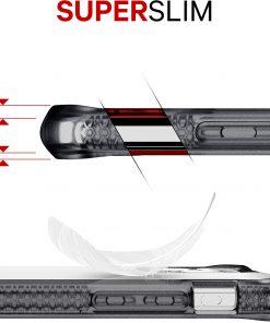 ITSKINS Level 2 HybridFrost for Apple iPhone 11 Transparent Black-149201
