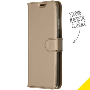 ACCEZZ BOOKLET WALLET GOLD SAMSUNG GALAXY S20 ULTRA