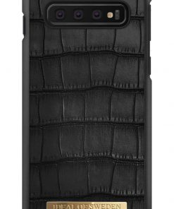 IDEAL FASHION CASE CAPRI BLACK CROCO SAMSUNG GALAXY S10